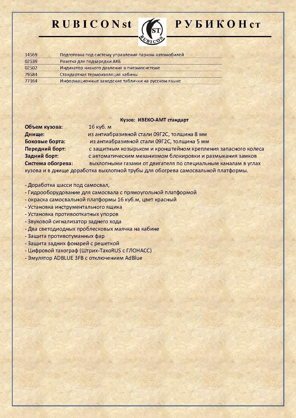 Cамосвал IVECO 6-4 4